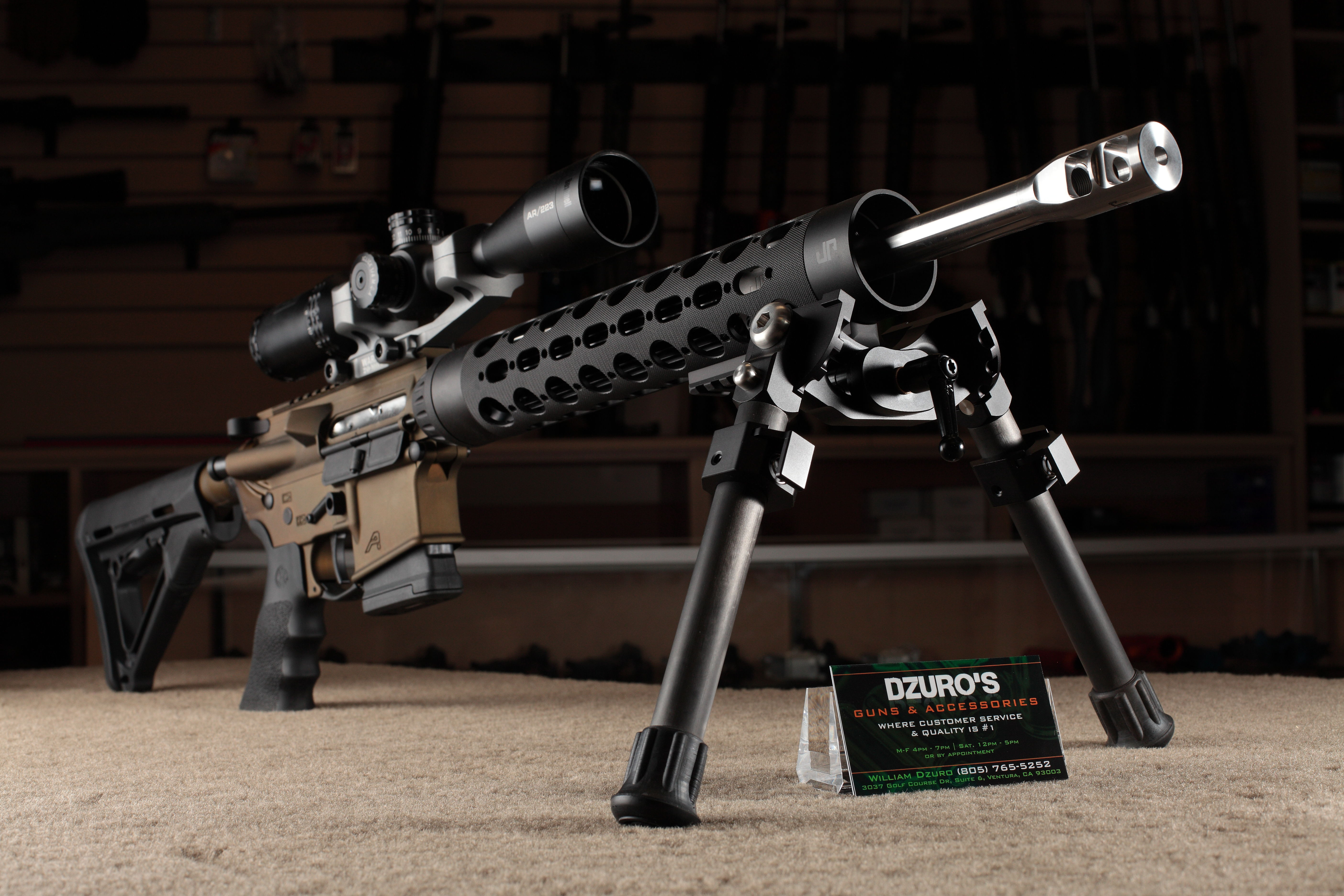 Custom Rifles Dzuros Guns Ventura Ca