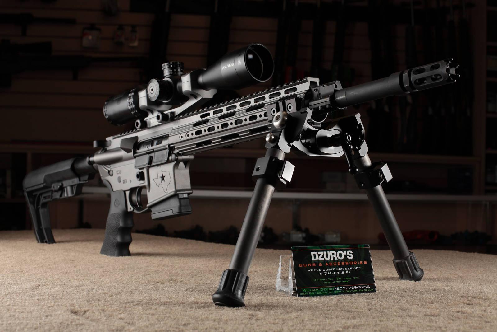 Custom Rifles Dzuro S Guns Ventura Ca
